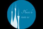 Vase design d'intérieur Étiquettes rondes - gabarit prédéfini. <br/>Utilisez notre logiciel Avery Design & Print Online pour personnaliser facilement la conception.