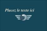 Ailes de limousine Étiquettes rectangulaires - gabarit prédéfini. <br/>Utilisez notre logiciel Avery Design & Print Online pour personnaliser facilement la conception.