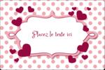 Bulles de Saint-Valentin Étiquettes rectangulaires - gabarit prédéfini. <br/>Utilisez notre logiciel Avery Design & Print Online pour personnaliser facilement la conception.
