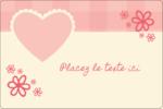 Guingan de la Saint-Valentin Étiquettes rectangulaires - gabarit prédéfini. <br/>Utilisez notre logiciel Avery Design & Print Online pour personnaliser facilement la conception.
