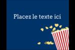 Popcorn et film Étiquettes rectangulaires - gabarit prédéfini. <br/>Utilisez notre logiciel Avery Design & Print Online pour personnaliser facilement la conception.
