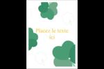 Trèfles en cœur de la Saint-Patrick Étiquettes rectangulaires - gabarit prédéfini. <br/>Utilisez notre logiciel Avery Design & Print Online pour personnaliser facilement la conception.