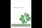 Trèfle de la Saint-Patrick Étiquettes rectangulaires - gabarit prédéfini. <br/>Utilisez notre logiciel Avery Design & Print Online pour personnaliser facilement la conception.