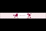 Bulles de Saint-Valentin Étiquettes enveloppantes - gabarit prédéfini. <br/>Utilisez notre logiciel Avery Design & Print Online pour personnaliser facilement la conception.
