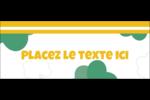 Trèfles en cœur de la Saint-Patrick Affichette - gabarit prédéfini. <br/>Utilisez notre logiciel Avery Design & Print Online pour personnaliser facilement la conception.
