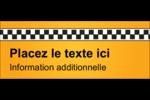 Échiquier taxi Affichette - gabarit prédéfini. <br/>Utilisez notre logiciel Avery Design & Print Online pour personnaliser facilement la conception.
