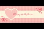 Guingan de la Saint-Valentin Affichette - gabarit prédéfini. <br/>Utilisez notre logiciel Avery Design & Print Online pour personnaliser facilement la conception.