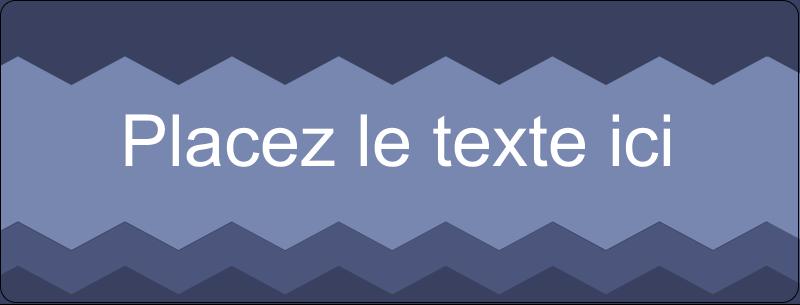 """½"""" x 1¾"""" Étiquettes D'Adresse - Chevron bleu"""