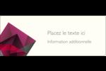 Pierres de rubis  Étiquettes D'Adresse - gabarit prédéfini. <br/>Utilisez notre logiciel Avery Design & Print Online pour personnaliser facilement la conception.