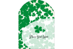 Customize lucky projects with pre-designed St. Patrick's Shamrock Background templates.
