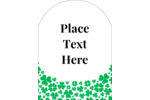 Add good luck to your project with pre-designed St. Patrick's Shamrock Rain templates.