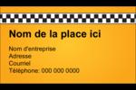 Échiquier taxi Carte d'affaire - gabarit prédéfini. <br/>Utilisez notre logiciel Avery Design & Print Online pour personnaliser facilement la conception.