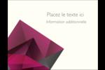 Pierres de rubis  Carte Postale - gabarit prédéfini. <br/>Utilisez notre logiciel Avery Design & Print Online pour personnaliser facilement la conception.