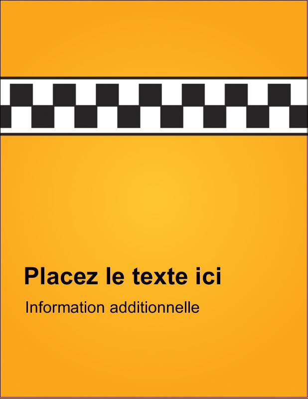 """4¼"""" X 5½"""" Carte Postale - Échiquier taxi"""