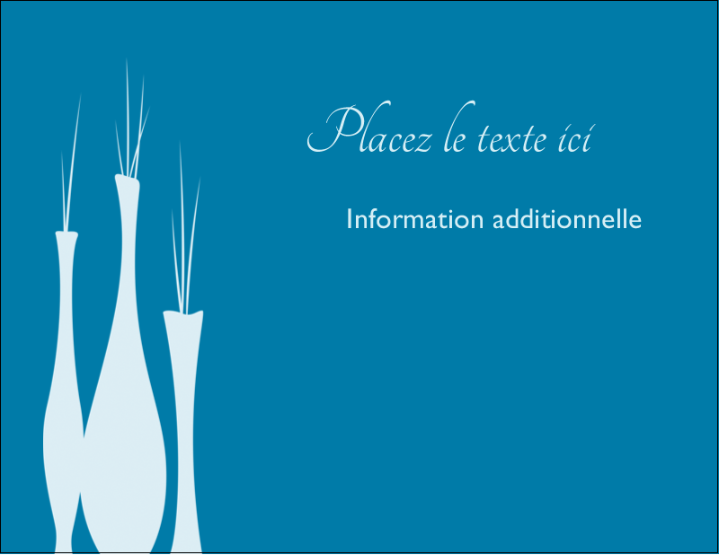 """4¼"""" X 5½"""" Carte Postale - Vase design d'intérieur"""