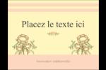 Dessin floral Carte Postale - gabarit prédéfini. <br/>Utilisez notre logiciel Avery Design & Print Online pour personnaliser facilement la conception.