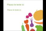 Panier de légumes Carte Postale - gabarit prédéfini. <br/>Utilisez notre logiciel Avery Design & Print Online pour personnaliser facilement la conception.