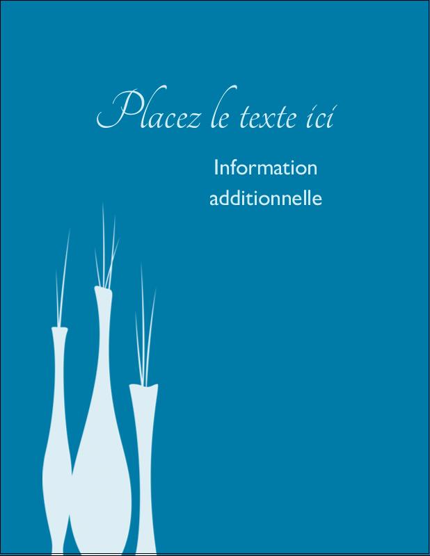 """5½"""" x 4¼"""" Carte Postale - Vase design d'intérieur"""