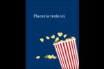 Popcorn et film Carte Postale - gabarit prédéfini. <br/>Utilisez notre logiciel Avery Design & Print Online pour personnaliser facilement la conception.