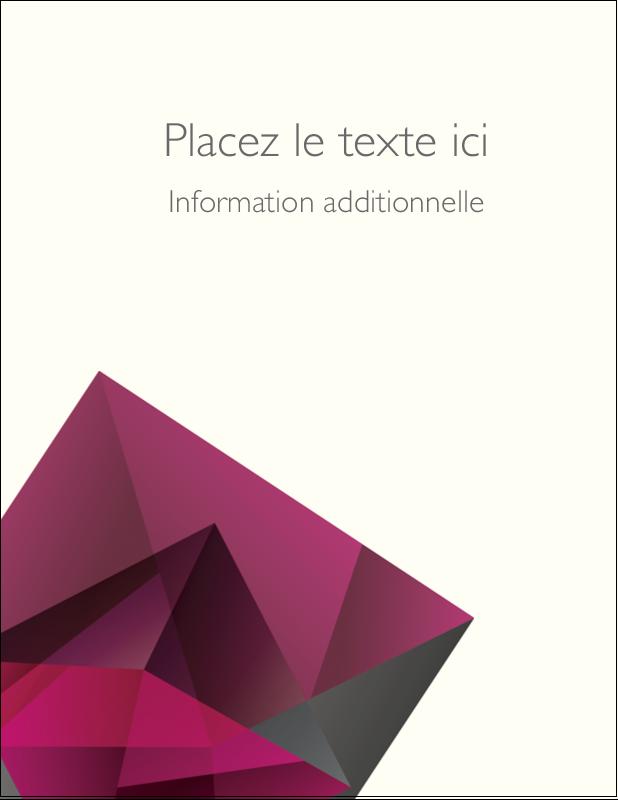 "5½"" x 4¼"" Carte Postale - Pierres de rubis"