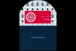 Flèche marine Étiquettes arrondies - gabarit prédéfini. <br/>Utilisez notre logiciel Avery Design & Print Online pour personnaliser facilement la conception.