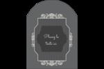 Papier peint gothique Étiquettes arrondies - gabarit prédéfini. <br/>Utilisez notre logiciel Avery Design & Print Online pour personnaliser facilement la conception.
