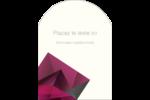 Pierres de rubis  Étiquettes arrondies - gabarit prédéfini. <br/>Utilisez notre logiciel Avery Design & Print Online pour personnaliser facilement la conception.
