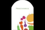 Panier de légumes Étiquettes arrondies - gabarit prédéfini. <br/>Utilisez notre logiciel Avery Design & Print Online pour personnaliser facilement la conception.