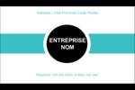 Bleu œuf d'oiseaux Carte d'affaire - gabarit prédéfini. <br/>Utilisez notre logiciel Avery Design & Print Online pour personnaliser facilement la conception.
