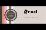Mortier de diplômé Affichette - gabarit prédéfini. <br/>Utilisez notre logiciel Avery Design & Print Online pour personnaliser facilement la conception.
