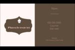Petit gâteau Carte d'affaire - gabarit prédéfini. <br/>Utilisez notre logiciel Avery Design & Print Online pour personnaliser facilement la conception.