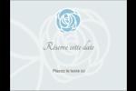 Roses bleues officielles Carte Postale - gabarit prédéfini. <br/>Utilisez notre logiciel Avery Design & Print Online pour personnaliser facilement la conception.