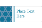 Easily customize projects with pre-designed Hanukkah Star of David Pattern templates.