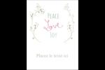 Les gabarits Paix, amour et joie pour votre prochain projet créatif des Fêtes Étiquettes rectangulaires - gabarit prédéfini. <br/>Utilisez notre logiciel Avery Design & Print Online pour personnaliser facilement la conception.