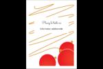 Boules de Noël Étiquettes rectangulaires - gabarit prédéfini. <br/>Utilisez notre logiciel Avery Design & Print Online pour personnaliser facilement la conception.