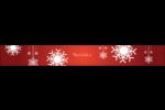 Les gabarits Flocons de neige en feutre pour votre prochain projet des Fêtes Étiquettes enveloppantes - gabarit prédéfini. <br/>Utilisez notre logiciel Avery Design & Print Online pour personnaliser facilement la conception.