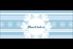 Les gabarits Flocon de neige bleu pour votre prochain projet des Fêtes Affichette - gabarit prédéfini. <br/>Utilisez notre logiciel Avery Design & Print Online pour personnaliser facilement la conception.