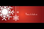 Les gabarits Flocons de neige en feutre pour votre prochain projet des Fêtes Affichette - gabarit prédéfini. <br/>Utilisez notre logiciel Avery Design & Print Online pour personnaliser facilement la conception.