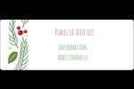 Les gabarits Guirlande pour votre prochain projet des Fêtes Étiquettes D'Adresse - gabarit prédéfini. <br/>Utilisez notre logiciel Avery Design & Print Online pour personnaliser facilement la conception.