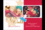 Ange pieux Carte Postale - gabarit prédéfini. <br/>Utilisez notre logiciel Avery Design & Print Online pour personnaliser facilement la conception.