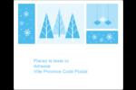 Les gabarits Pays des merveilles hivernales rétro pour votre prochain projet créatif Étiquettes d'expédition - gabarit prédéfini. <br/>Utilisez notre logiciel Avery Design & Print Online pour personnaliser facilement la conception.