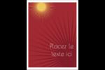 Soleils du Nouvel An Étiquettes rectangulaires - gabarit prédéfini. <br/>Utilisez notre logiciel Avery Design & Print Online pour personnaliser facilement la conception.