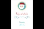 Père Noël Étiquettes rectangulaires - gabarit prédéfini. <br/>Utilisez notre logiciel Avery Design & Print Online pour personnaliser facilement la conception.