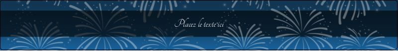 """9¾"""" x 1¼"""" Étiquettes enveloppantes - Feux d'artifice bleus du Nouvel An"""