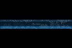 Feux d'artifice bleus du Nouvel An Étiquettes enveloppantes - gabarit prédéfini. <br/>Utilisez notre logiciel Avery Design & Print Online pour personnaliser facilement la conception.