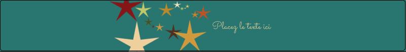 """9¾"""" x 1¼"""" Étiquettes enveloppantes - Étoiles du Nouvel An"""