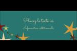 Étoiles du Nouvel An Affichette - gabarit prédéfini. <br/>Utilisez notre logiciel Avery Design & Print Online pour personnaliser facilement la conception.