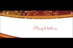 Feux d'artifice rouges du Nouvel An Étiquettes D'Adresse - gabarit prédéfini. <br/>Utilisez notre logiciel Avery Design & Print Online pour personnaliser facilement la conception.