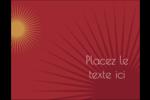 Soleils du Nouvel An Carte Postale - gabarit prédéfini. <br/>Utilisez notre logiciel Avery Design & Print Online pour personnaliser facilement la conception.