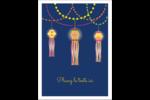 Lanternes Divali Étiquettes rectangulaires - gabarit prédéfini. <br/>Utilisez notre logiciel Avery Design & Print Online pour personnaliser facilement la conception.
